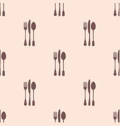 Restaurant menu seamless pattern background vector