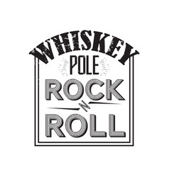 Whiskey badge vector