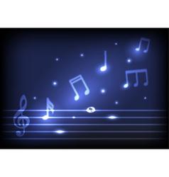 magic music notes vector image