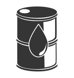 Oil barrel petreolum busines icon vector image