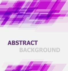 Abstract violet geometric overlapping background vector image
