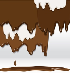 Cocolate background vector image