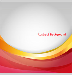abstract business background isolated design geome vector image