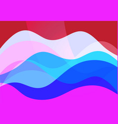 abstract transparent background with different vector image
