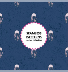 Seamless medusa pattern vector