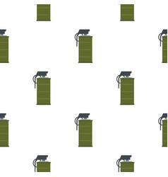 Smoke grenade pattern seamless vector