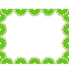 Lime frame vector image