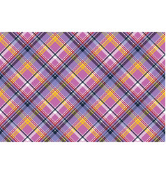 Pink purple plaid pixel texture fabric seamless vector