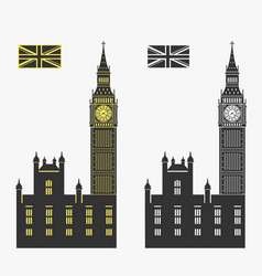big ben london vector image vector image