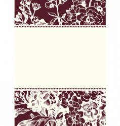 daisy background and frame vector image vector image