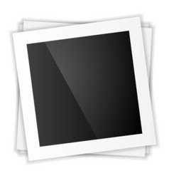 photo frame top view vector image