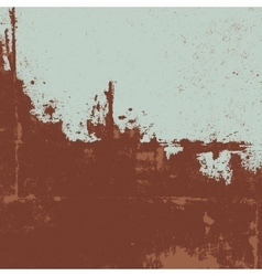 Rusty texture Grunge background vector image