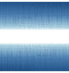 technology dashes stripe vector image vector image