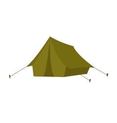 Outdoor tent vector image