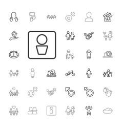 Boy icons vector
