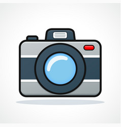 camera icon design clipart vector image