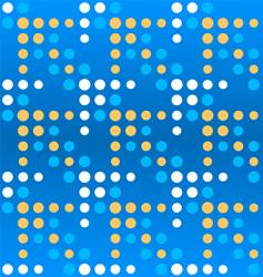 dotted arrows pattern vector image