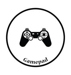 Gamepad icon vector