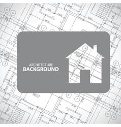 Monochrome architecture background vector