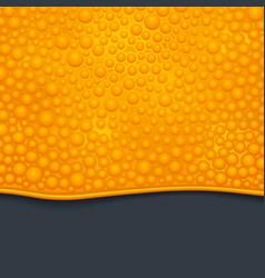 Orange slime 01 vector