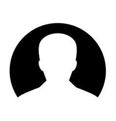 user icon male person profile avatar symbol vector image