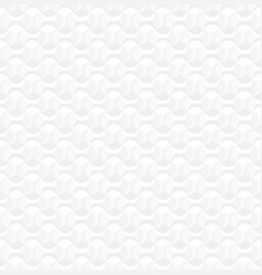 white seamless decorative texture geometric 3d vector image