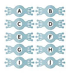 modern computer technology vector image