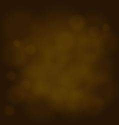 Abstract magic light sky bubble blur gold vector