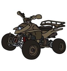 All terrain vehicle vector image