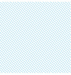 background with blue waves line vector image
