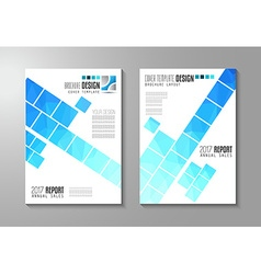 Brochure template Flyer Design or Depliant Cover vector image