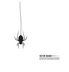 Creepy spider vector