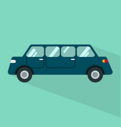 Limousine icon set of great flat icons with vector