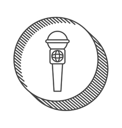 News microphone device vector