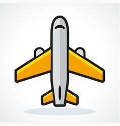 plane design vector image