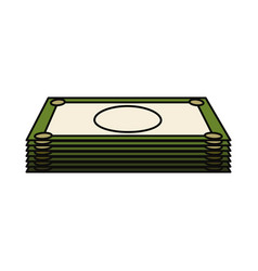 money bill icon vector image vector image