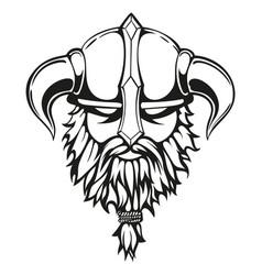 viking graphic image vector image