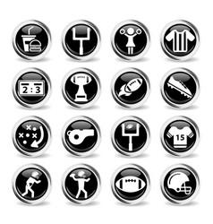 Alternative energy simply icons vector