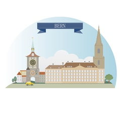 Bern vector image