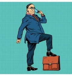 Boss business people vector image