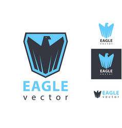 eagles logo eagle scout badge icon vector image