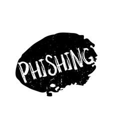 Phishing rubber stamp vector