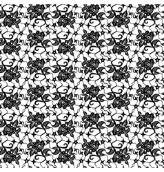 lace with flower vector image vector image