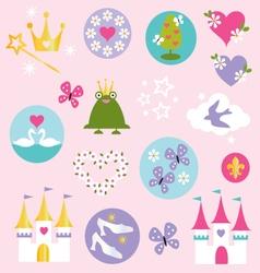 princess clipart vector image