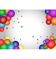 Abstract Atom frame background vector