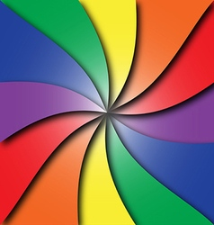Colorful spiral vector