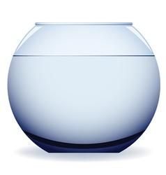 Empty aquarium vector