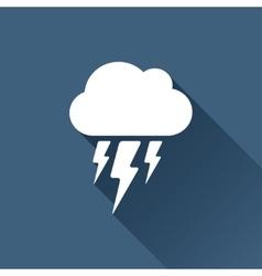 flash icon Epswhite0 vector image