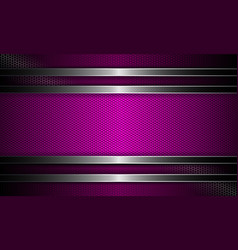 Geometric textural design with a purple hue curly vector