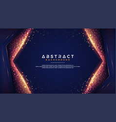 glowing abstract background vector image